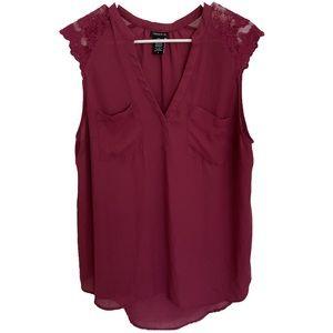 Pink torrid blouse